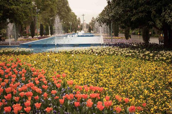 امکانات پارک لاله تهران