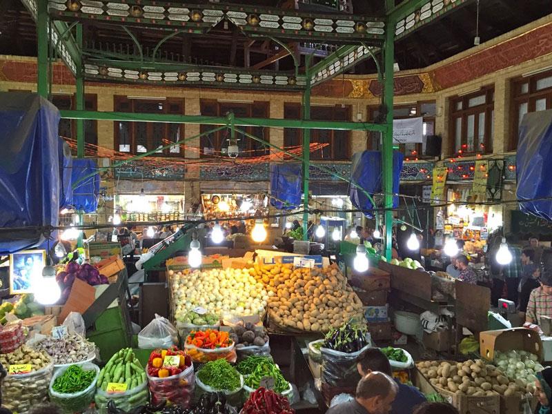 بازار سنتی تجریش تهران