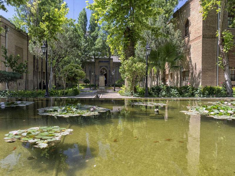 باغ نگارستان یک باغ تاریخی تهران