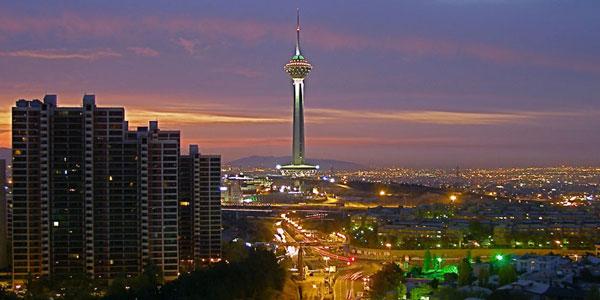 برج میلاد تهران بزرگ