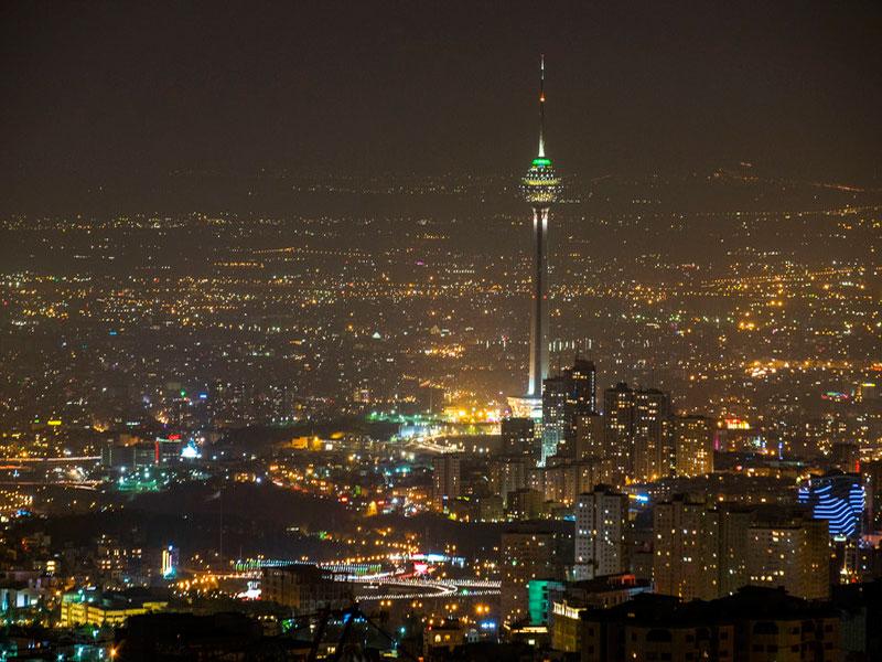 برجهای معروف تهران بزرگ