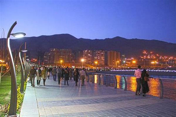 تاریخچه دریاچه چیتگر تهران