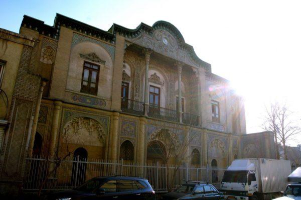تاریخچه کاخ مسعودیه تهران