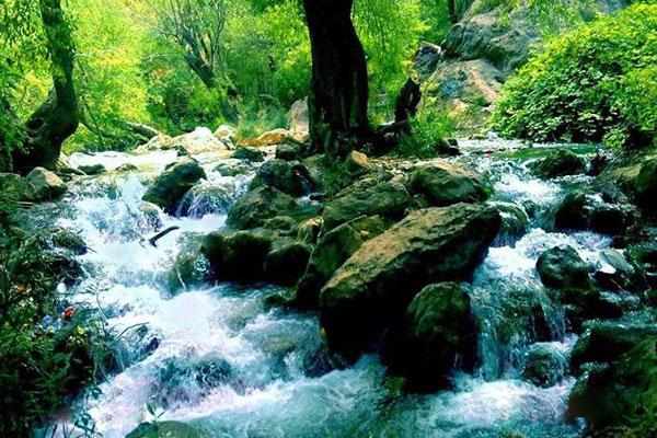درباره آبشار مارگون شیراز