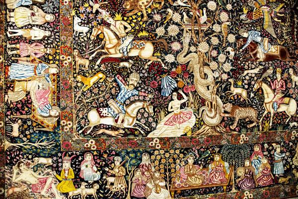 درباره فرش های ایرانی چه می دانید