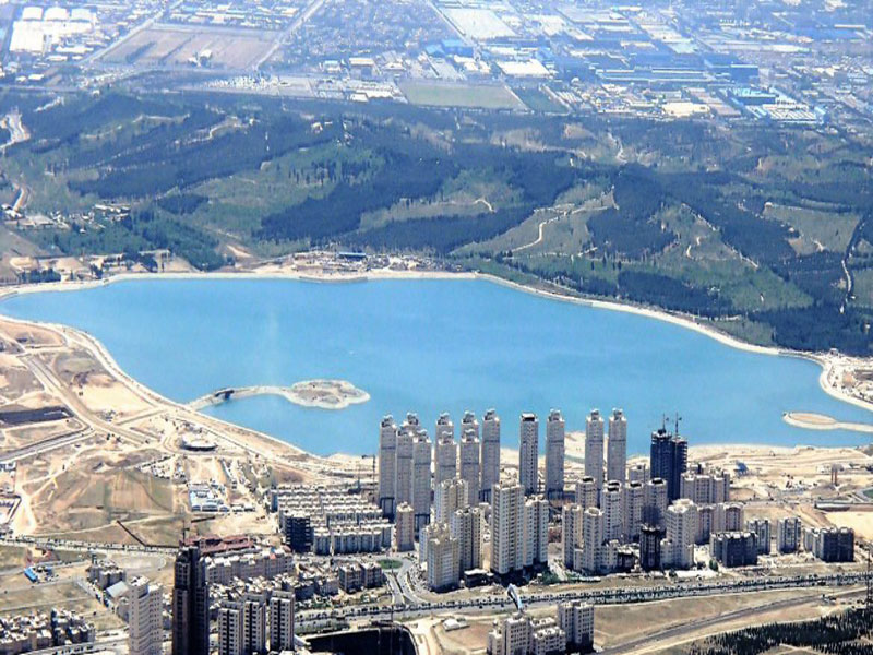 دریاچه چیتگر تهران بزرگترین دریاچه مصنوعی تهران