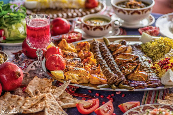رستوران های نزدیک بازار بزرگ تهران ایران
