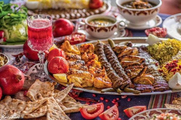 رستوران های نزدیک موزه زمان تهران