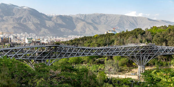 ساختار پل طبیعت تهران