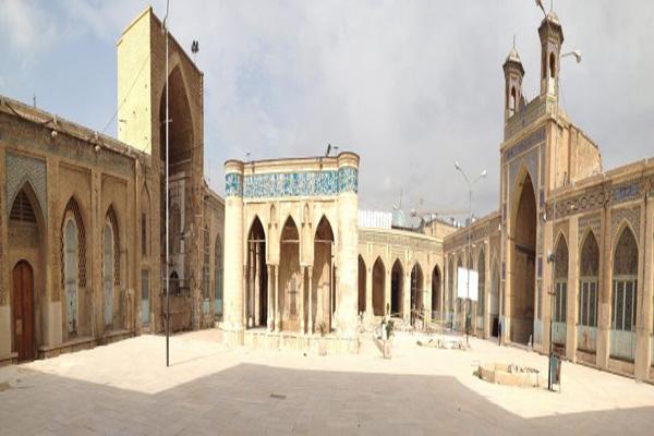 ضلع اصلی مسجد شیراز