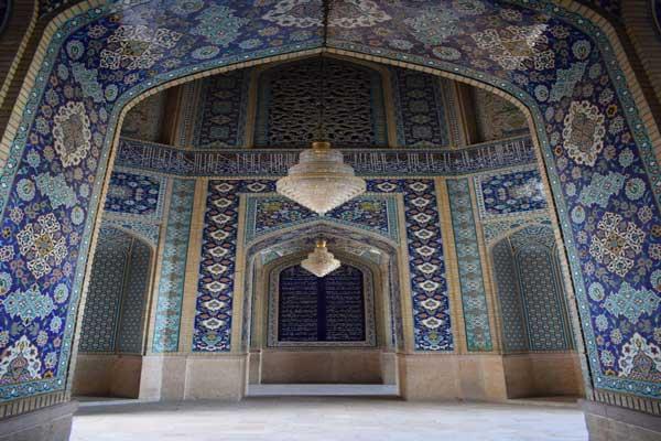 ضلع غربی مسجد جامع شیراز