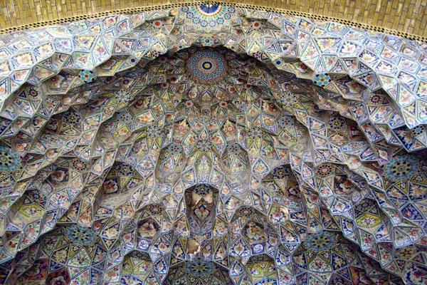عالی ترین قسمت مسجد شیراز