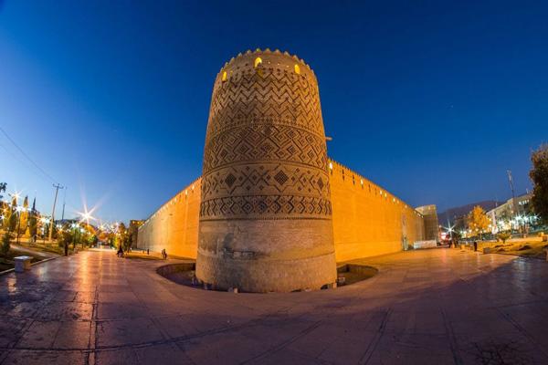 محل ارگ کریم خان شیراز
