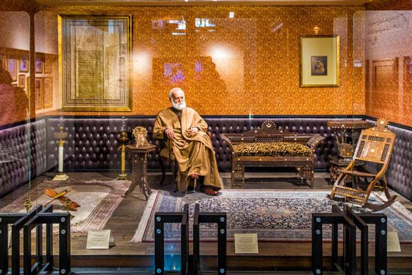 محل موزه و كتابخانه ملك در تهران