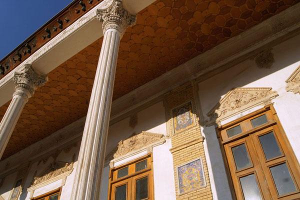 محل کاخ مسعودیه تهران