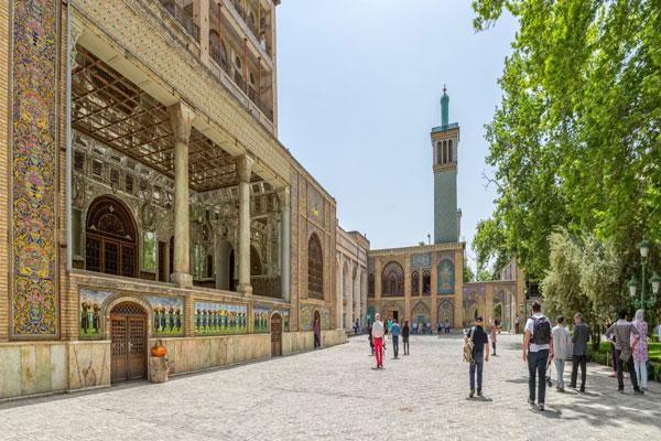 محل کاخ گلستان تهران