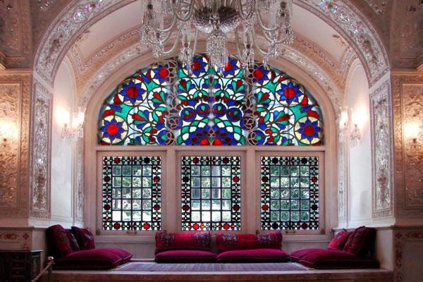 معماری مجموعه کاخ نیاوران در تهران