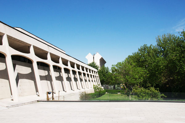 معماری موزه فرش ایران تهران