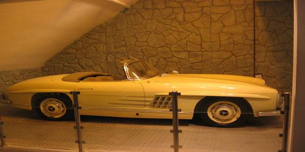 موزه اتومبیل های سلطنتی سعد آباد
