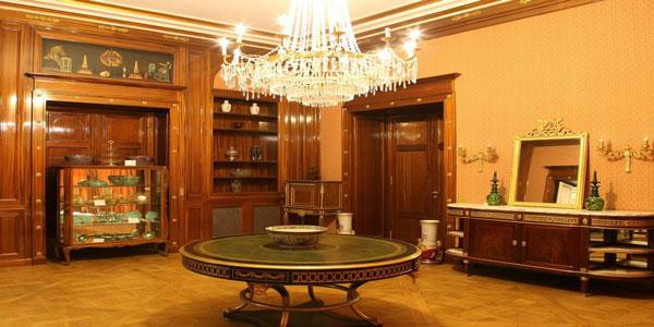 موزه ظروف سلطنتی کاخ سعد آباد