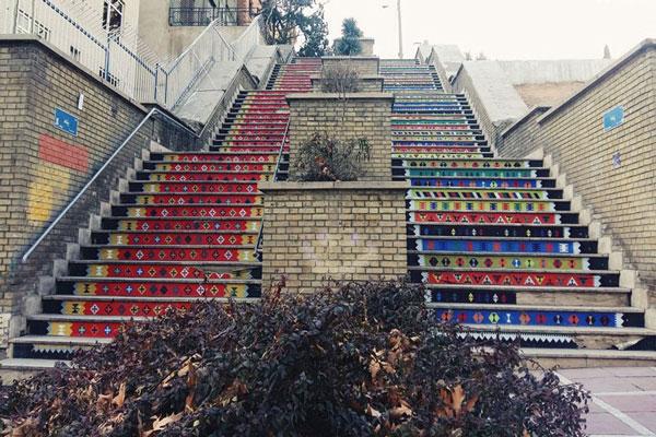 موقعیت مکامی خیابان ولیعصر در تهران
