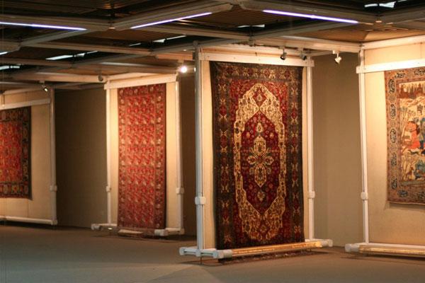 موقعیت مکانی موزه فرش در تهران