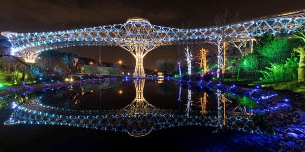 موقعیت مکانی پل طبیعت تهران