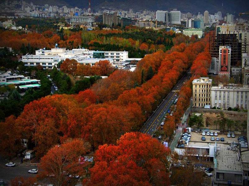 خیابان ولیعصر طولانی ترین خیابان خاورمیانه در تهران