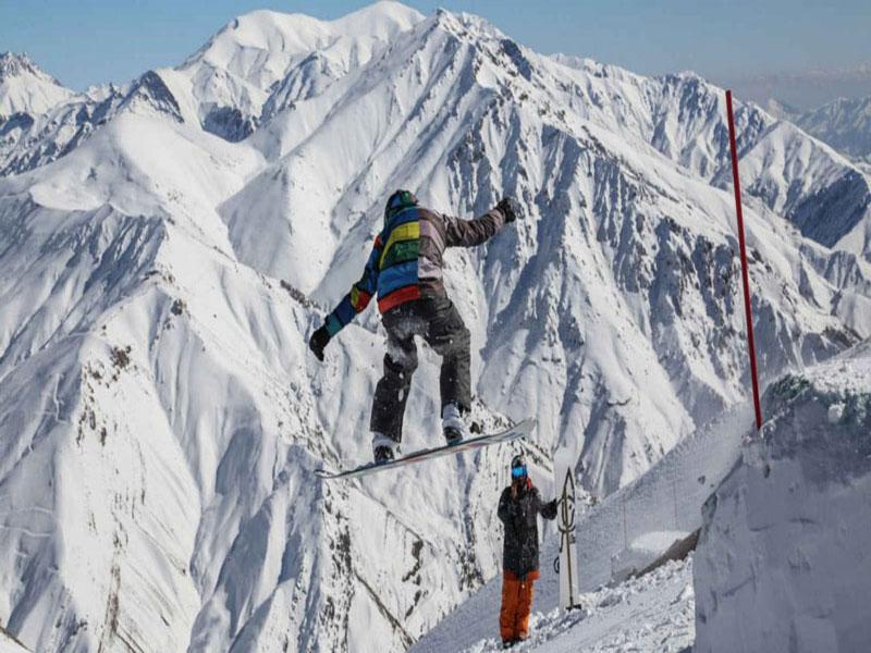 پیست اسکی دیزین مجهزترین پیست اسکی در خاورمیانه ایران تهران