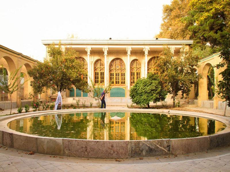 کاخ مسعودیه بنای باقی مانده از دوره قاجار