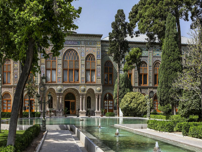 کاخ گلستان میراث یونسکو در تهران