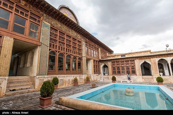 آدرس خانه زینت الملک شیراز
