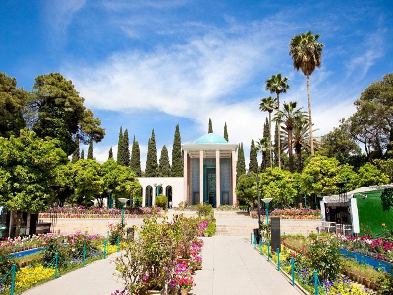 ارامگاه سعدی شیراز
