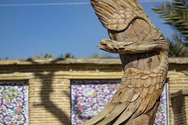 بازسازی باغ جهان نما شیراز