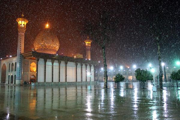 بازسازی شاه چراغ شیراز