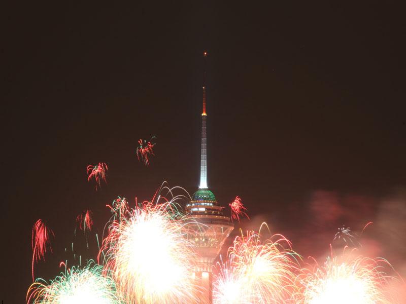 برج میلاد نماد اصلی پایتخت ایران تهران
