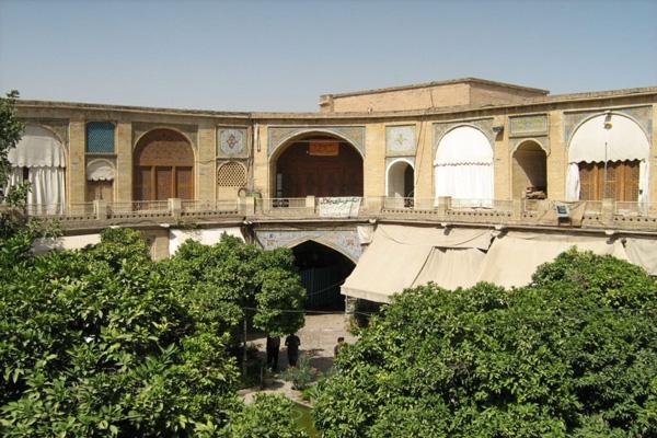 تاریخچه سرای مشیر شیراز