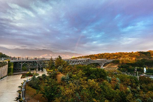 درباره پل طبیعت تهران