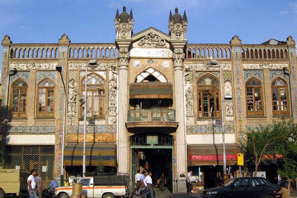 دو بنای منحصر به فرد خیابان ناصر خسرو تهران