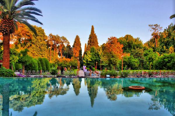 دیدنی های باغ ارم شیراز