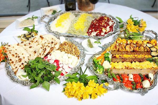 رستوران های نزدیک سرای مشیر شیراز