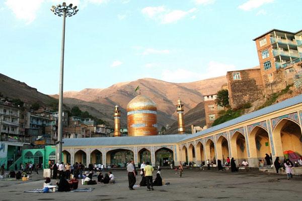 رستوران های اطراف زیارتگاه امام زاده داوود در تهران