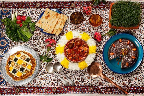 رستوران های نزدیک باغ ارم شیراز