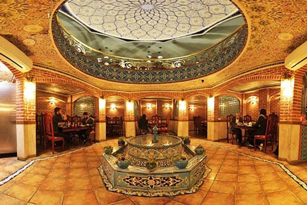رستوران های نزدیک به کاروانسرای خانات تهران
