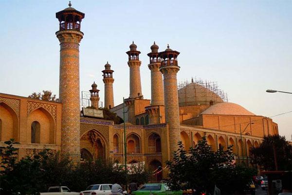 رستوران های نزدیک مسجد سپهسالار چیست