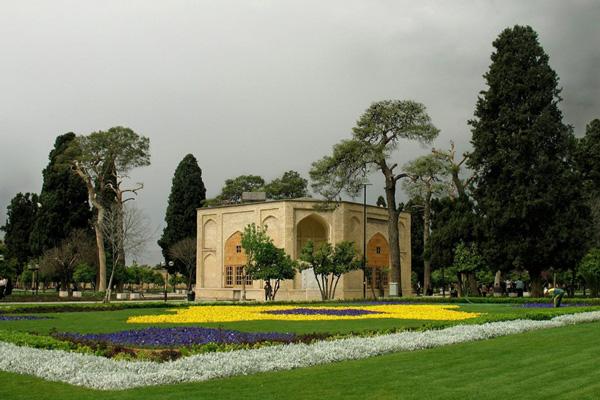 ساختار باغ جهان نما شیراز