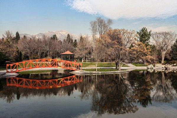 ساختار باغ ملی گیاه شناسی ایران به چه صورت است