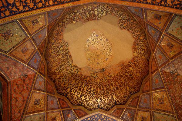 ساختار-کاخ-چهل-ستون اصفهان