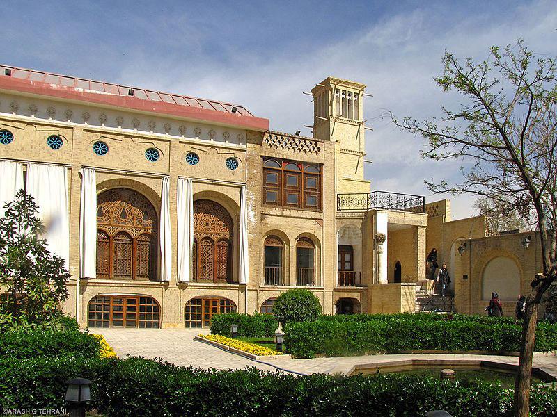 عمارت کاظمی عمارتی اعیانی یادگار دوران قاجار