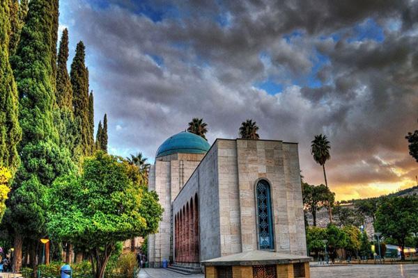 معماری ارامگاه سعدی شیراز